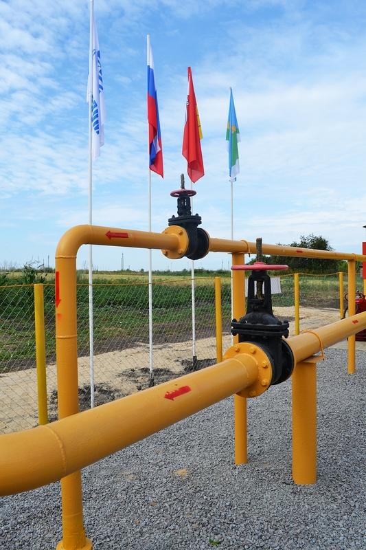 Объекты, построенные по Программе газификации регионов, реализуемой ПАО «Газпром» совместно с правительством Воронежской области