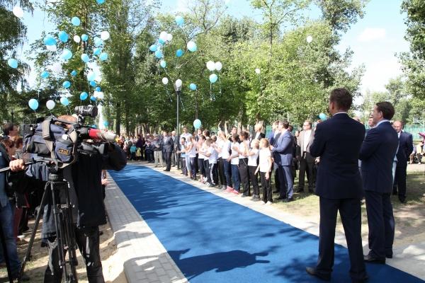 «Газпром» построит в Воронежской области четыре крупных спортивных объекта
