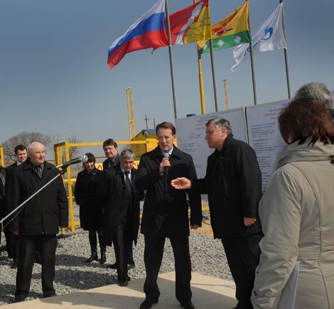 Благодаря пуску двух новых газопроводов газом обеспечены восемь населенных пунктов Эртильского и Терновского районов