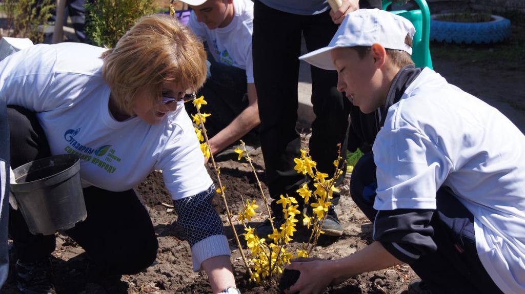 Воронежские газовики провели экологические мероприятия в подшефных школах-интернатах