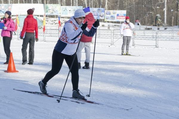 Воронежские газовики приняли участие в соревнованиях по лыжным гонкам 22.02.1018