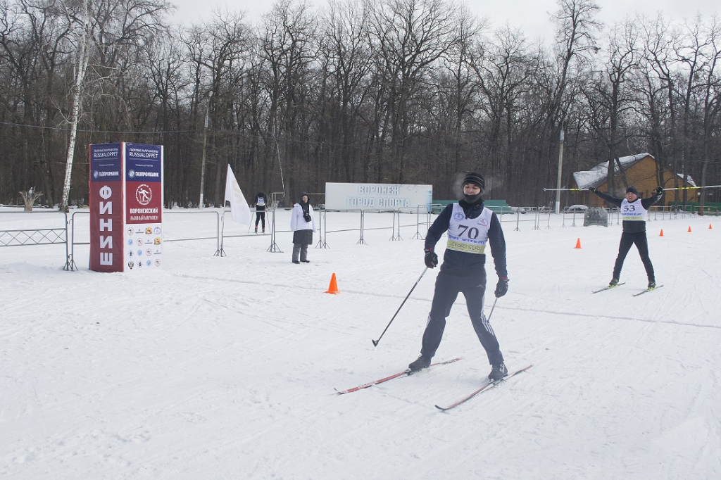 Воронежские газовики приняли участие в соревнованиях по лыжным гонкам 22.02.2019