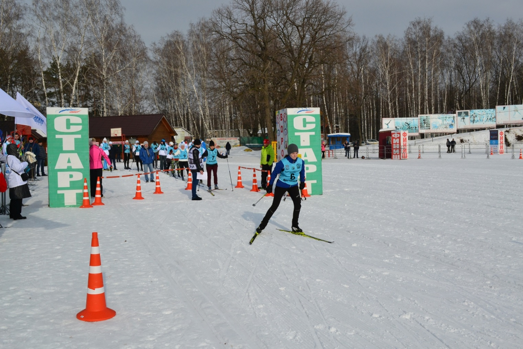 Воронежские газовики провели соревнования по лыжным гонкам