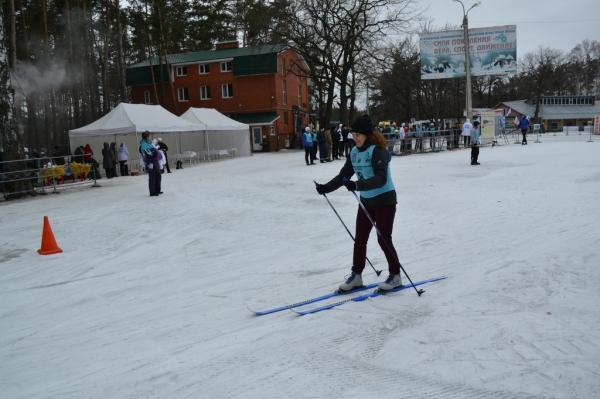 Воронежские газовики приняли участие в соревнованиях по лыжным гонкам