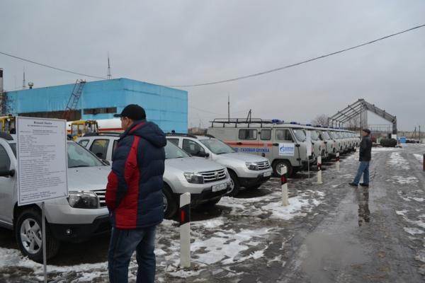 В преддверии Нового года воронежские газовики получили новую эксплуатационную технику