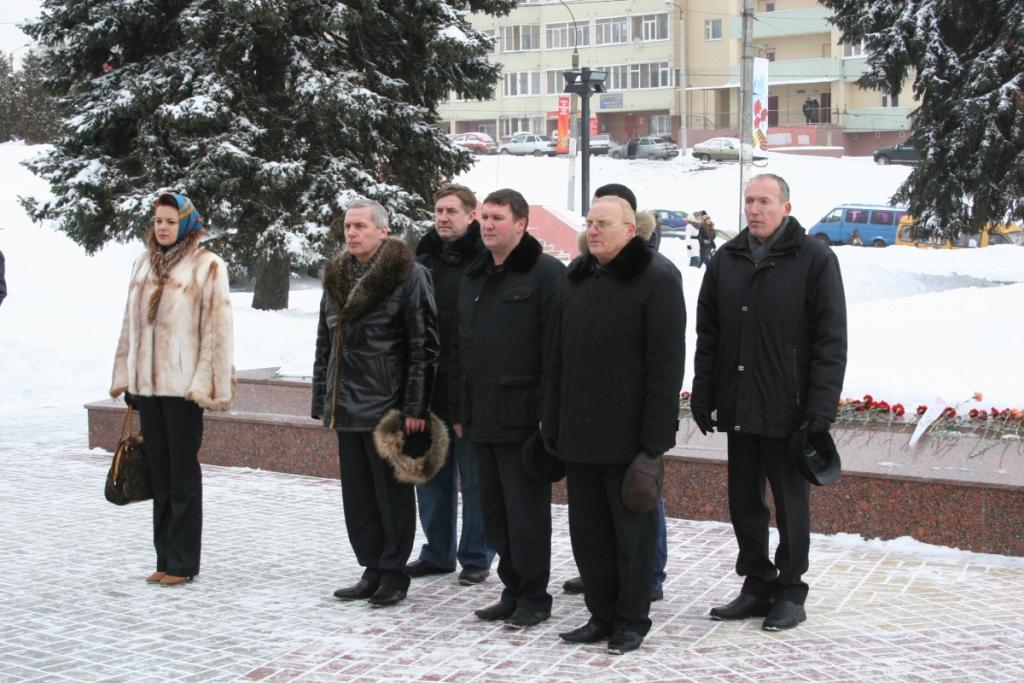 Воронежские газовики приняли участие в памятном митинге, посвященном годовщине освобождения Воронежа от немецко-фашистских захватчиков