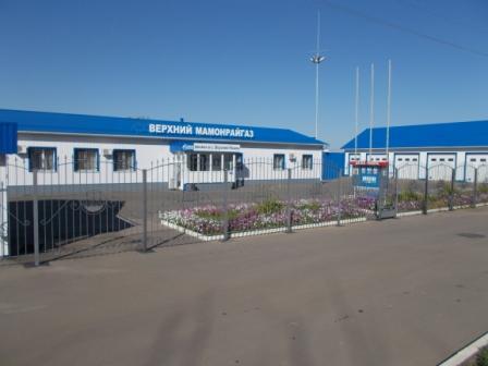 Филиал ОАО Газпром газораспределение Воронеж в с. Верхний Мамон